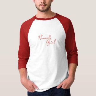 ノーウォークの女の子のTシャツ Tシャツ