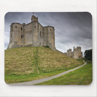 ノーサンバーランド、イギリスのWarkworthの城 マウスパッド