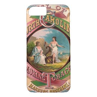 ノースカロライナのタバコの広告1879年 iPhone 8/7ケース