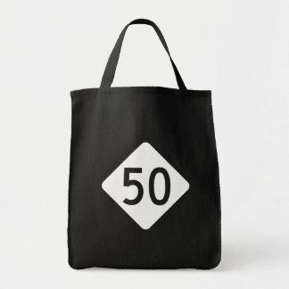 ノースカロライナのハイウェー50 トートバッグ