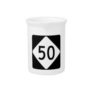 ノースカロライナのハイウェー50 ピッチャー