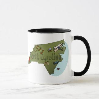 ノースカロライナのマグ マグカップ