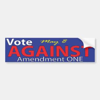 ノースカロライナの修正1に対する投票 バンパーステッカー