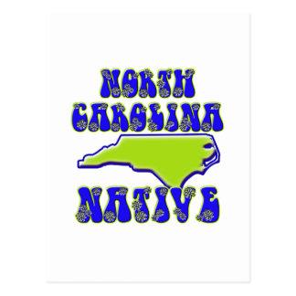 ノースカロライナの先住民 ポストカード