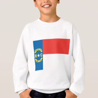 ノースカロライナの公式の州の旗 スウェットシャツ