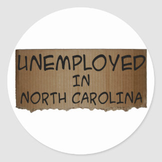 ノースカロライナの失業者 ラウンドシール