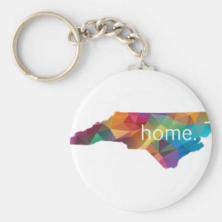 ノースカロライナの家の低い多 キーホルダー