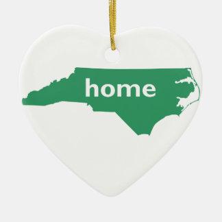 ノースカロライナの家 セラミックオーナメント