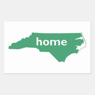 ノースカロライナの家 長方形シール