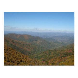 ノースカロライナの山 ポストカード