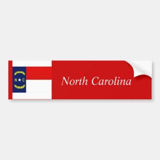 ノースカロライナの州の旗、ノースカロライナ バンパーステッカー