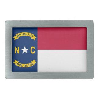 ノースカロライナの州の旗 長方形ベルトバックル