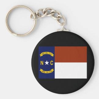 ノースカロライナの州の旗Keychain キーホルダー