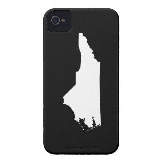 ノースカロライナの州の輪郭 Case-Mate iPhone 4 ケース