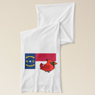 ノースカロライナの州Birdorable スカーフ