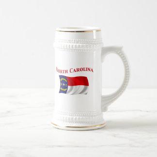 ノースカロライナの旗 ビールジョッキ