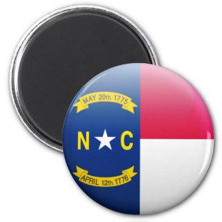 ノースカロライナの旗 マグネット