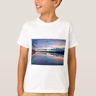 ノースカロライナの日没 Tシャツ