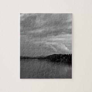 ノースカロライナの湖の景色の写真 ジグソーパズル
