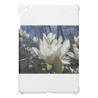 ノースカロライナの白いマグノリア iPad MINI カバー