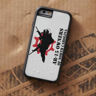 ノースカロライナの電話箱のAR-15所有者 iPhone 6 タフ・エクストリームケース