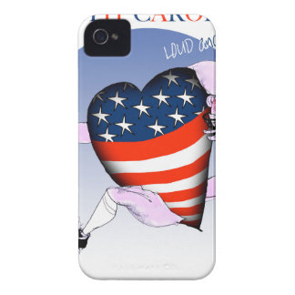 ノースカロライナの騒々しく、誇りを持った、贅沢なfernandes Case-Mate iPhone 4 ケース