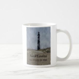 ノースカロライナは精神状態です コーヒーマグカップ