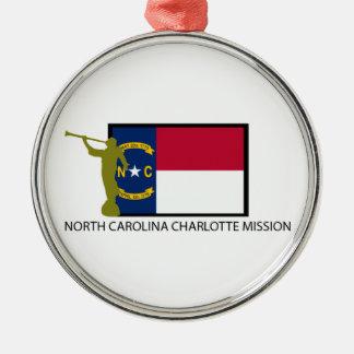 ノースカロライナシャーロットの代表団LDS CTR メタルオーナメント