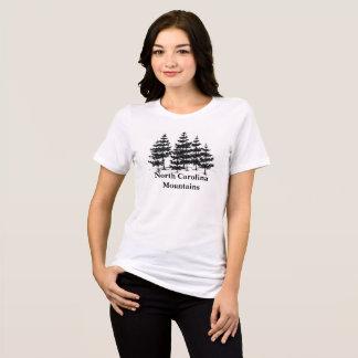 ノースカロライナ山の松の木のTシャツ Tシャツ