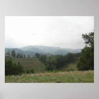 ノースカロライナ山 ポスター