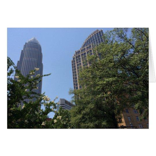 ノースカロライナ、アメリカのカードの建築 グリーティングカード