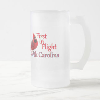 ノースカロライナ フロストグラスビールジョッキ
