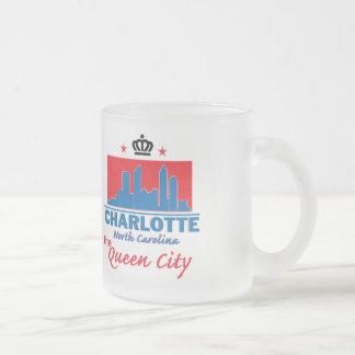 ノースカロライナ フロストグラスマグカップ