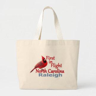 ノースカロライナ ラージトートバッグ