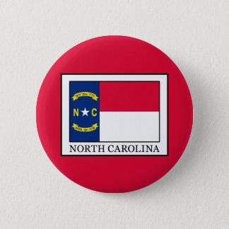 ノースカロライナ 5.7CM 丸型バッジ