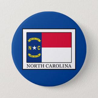 ノースカロライナ 7.6CM 丸型バッジ