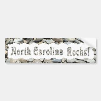 ノースカロライナROCKS-BUMPERのステッカー バンパーステッカー