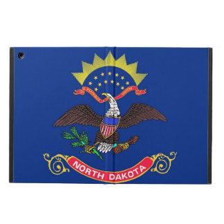 ノースダコタの旗との愛国心が強いipadの場合 iPad airケース