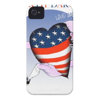 ノースダコタの騒々しく、誇りを持った、贅沢なfernandes Case-Mate iPhone 4 ケース