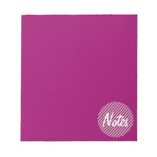 ノートあずき色メモ帳  ノートパッド