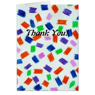 ノートありがとう カード
