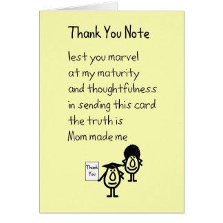 ノートありがとう-卒業のギフトは詩感謝していしています カード