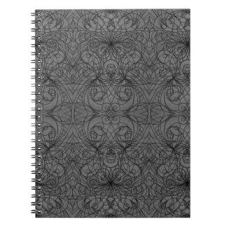 ノートのインドのスタイル ノートブック