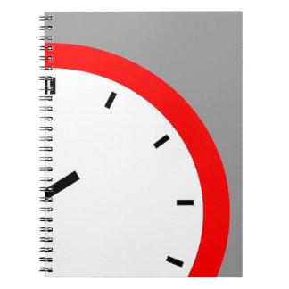 ノートのレトロの時間日記旅行ジャーナルノート ノートブック