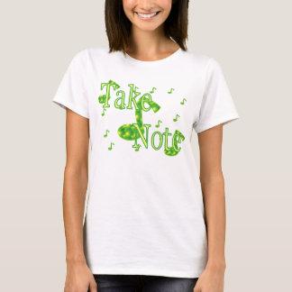 ノートの農夫を取って下さい Tシャツ