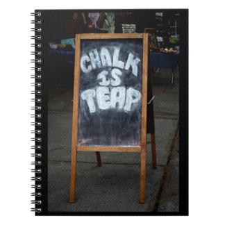 ノートを言うおもしろいな黒板 ノートブック