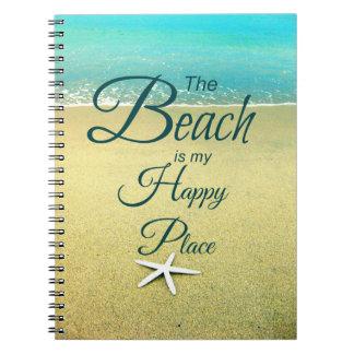 ノートを言うビーチ ノートブック