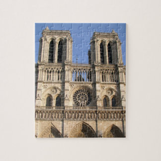ノートルダム大聖堂が付いているスタイリッシュなパズル ジグソーパズル