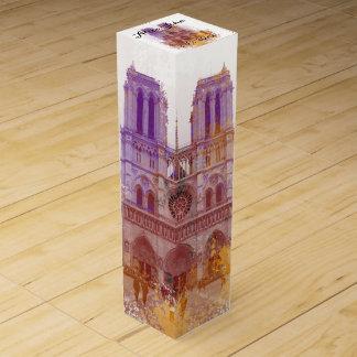 ノートルダム大聖堂の結婚式 ワインギフトボックス