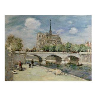 ノートルダム大聖堂、c.1900 ポストカード